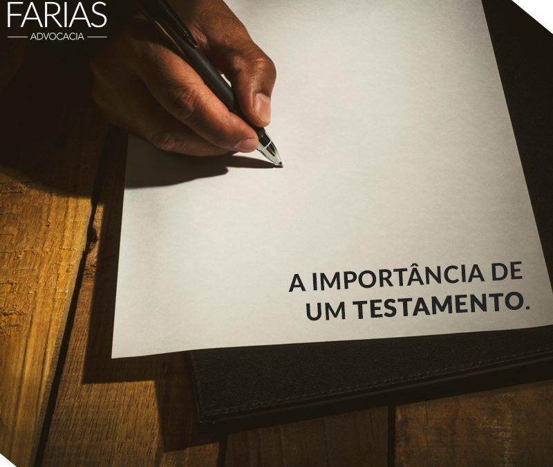 A Importância de um Testamento